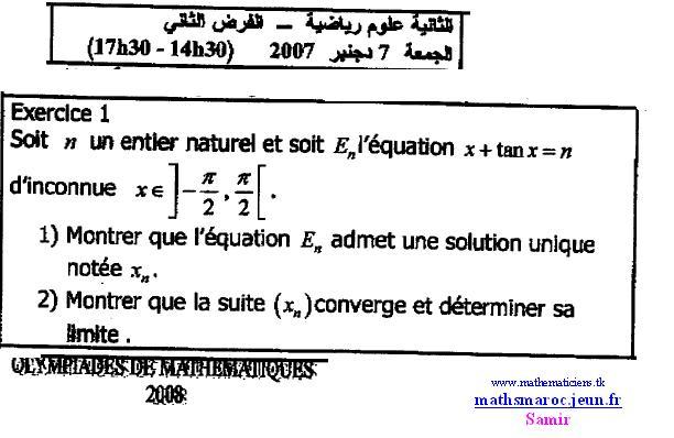 ex1 olympiade marocaine7 Dec 2007 (devoir N° 2) Ex111