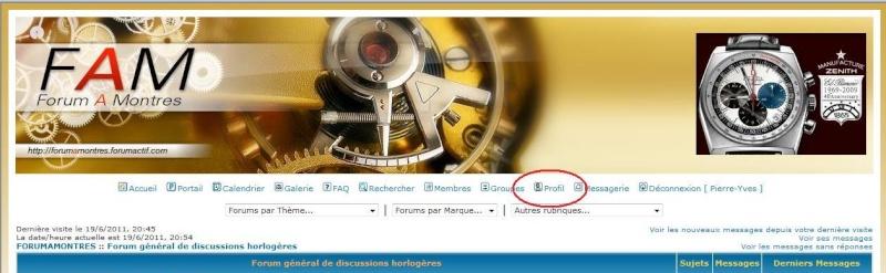 Info Forumamontres / Bien utiliser les fonctionnalités du forum/ Désinscription Date110