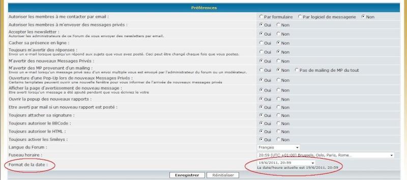 Info Forumamontres / Bien utiliser les fonctionnalités du forum/ Désinscription Date310