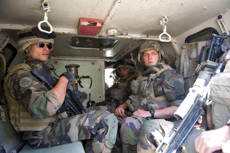 La section Gris 4 du lieutenant M est actuellement en mission au sein du Battle Group RAPTOR 1er_rc22