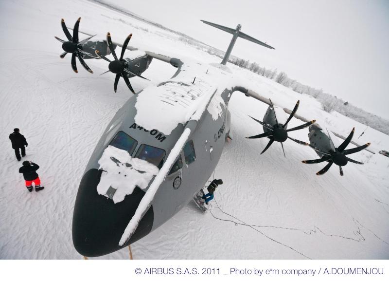 Quelques belles photos de l'A400M au nord du cercle polaire artique 48854-13