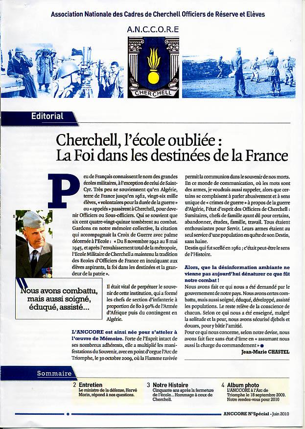 Dossier de Presse: Cérémonie INVALIDES Cherchell Ecole oubliée 8/10/10 Cherch12