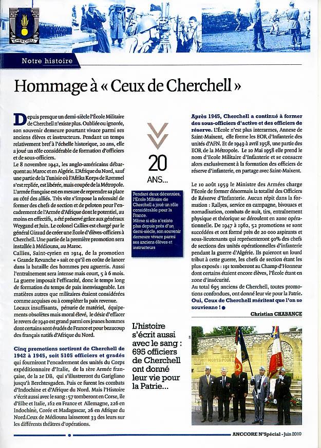 Dossier de Presse: Cérémonie INVALIDES Cherchell Ecole oubliée 8/10/10 Cherch14