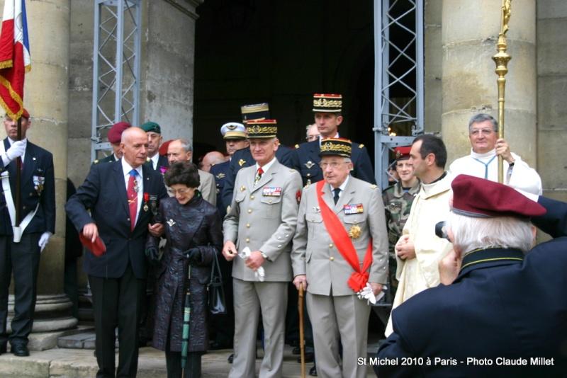 Cérémonie 2010 St MICHEL Archange Saint patron des parachutistes - UNP -Union Nationale Parachutistes - 2 octobre 2010 Img_8711