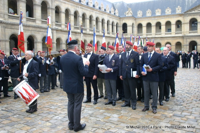 Cérémonie 2010 St MICHEL Archange Saint patron des parachutistes - UNP -Union Nationale Parachutistes - 2 octobre 2010 Img_8713