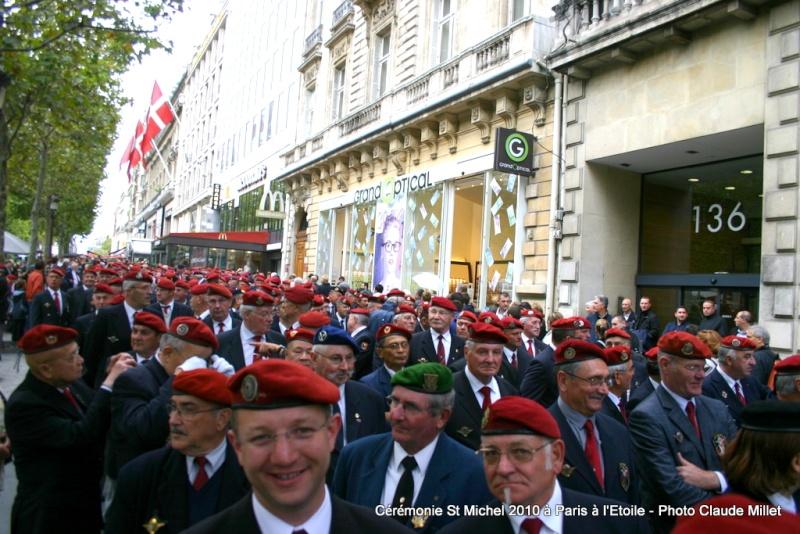 Cérémonie 2010 St MICHEL Archange Saint patron des parachutistes - UNP -Union Nationale Parachutistes - 2 octobre 2010 Img_8811