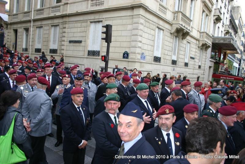 Cérémonie 2010 St MICHEL Archange Saint patron des parachutistes - UNP -Union Nationale Parachutistes - 2 octobre 2010 Img_8813