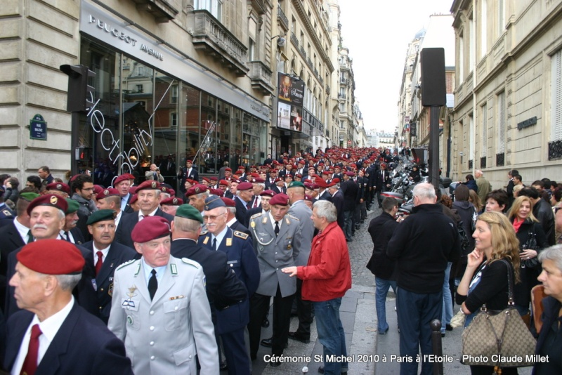 Cérémonie 2010 St MICHEL Archange Saint patron des parachutistes - UNP -Union Nationale Parachutistes - 2 octobre 2010 Img_8815