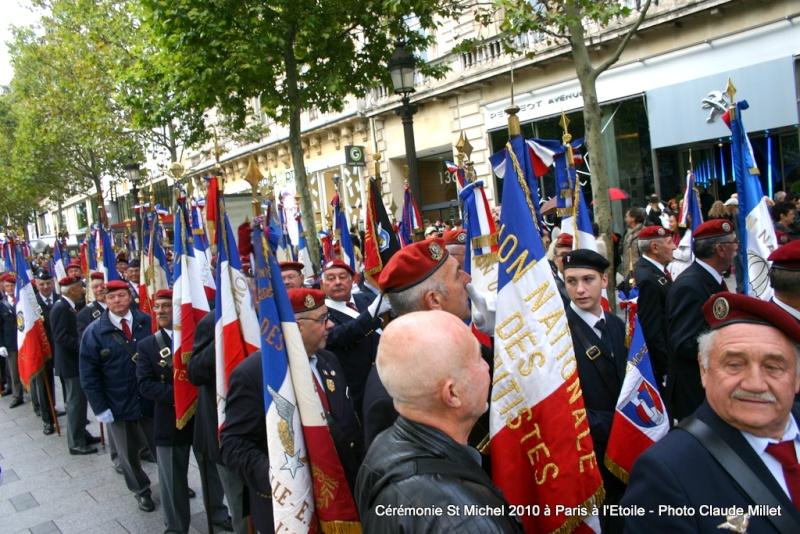 Cérémonie 2010 St MICHEL Archange Saint patron des parachutistes - UNP -Union Nationale Parachutistes - 2 octobre 2010 Img_8818
