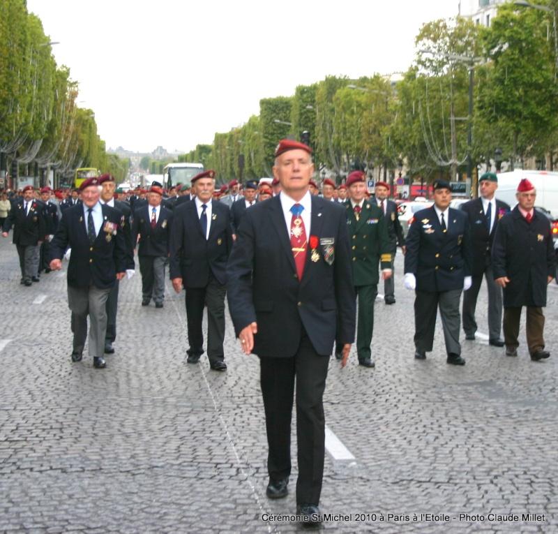 Cérémonie 2010 St MICHEL Archange Saint patron des parachutistes - UNP -Union Nationale Parachutistes - 2 octobre 2010 Img_8820
