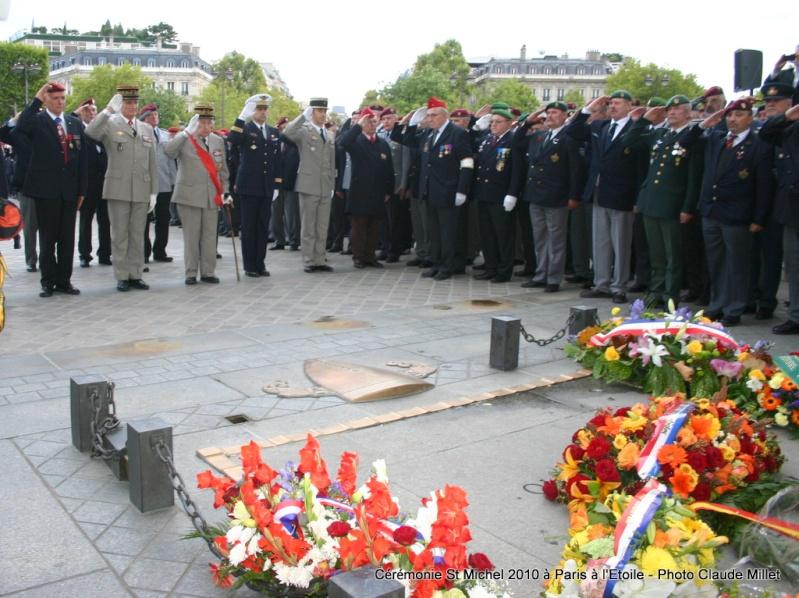 Cérémonie 2010 St MICHEL Archange Saint patron des parachutistes - UNP -Union Nationale Parachutistes - 2 octobre 2010 Img_8825