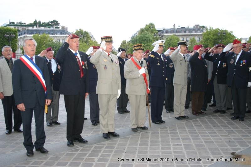 Cérémonie 2010 St MICHEL Archange Saint patron des parachutistes - UNP -Union Nationale Parachutistes - 2 octobre 2010 Img_8911