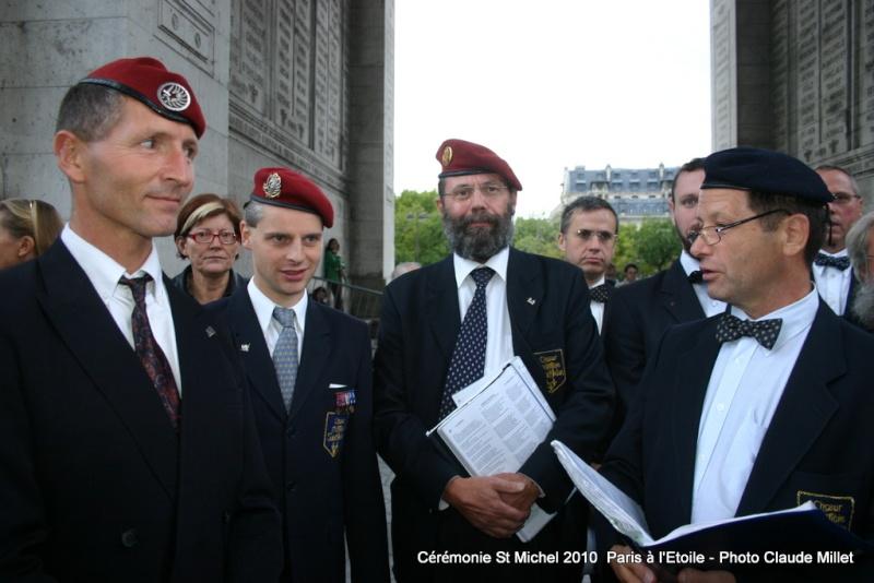Cérémonie 2010 St MICHEL Archange Saint patron des parachutistes - UNP -Union Nationale Parachutistes - 2 octobre 2010 Img_8912