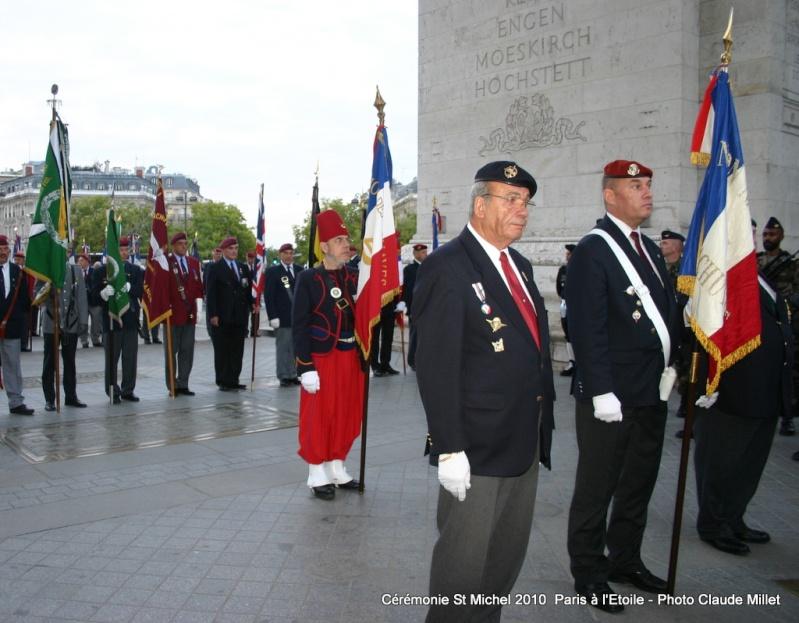 Cérémonie 2010 St MICHEL Archange Saint patron des parachutistes - UNP -Union Nationale Parachutistes - 2 octobre 2010 Img_8914