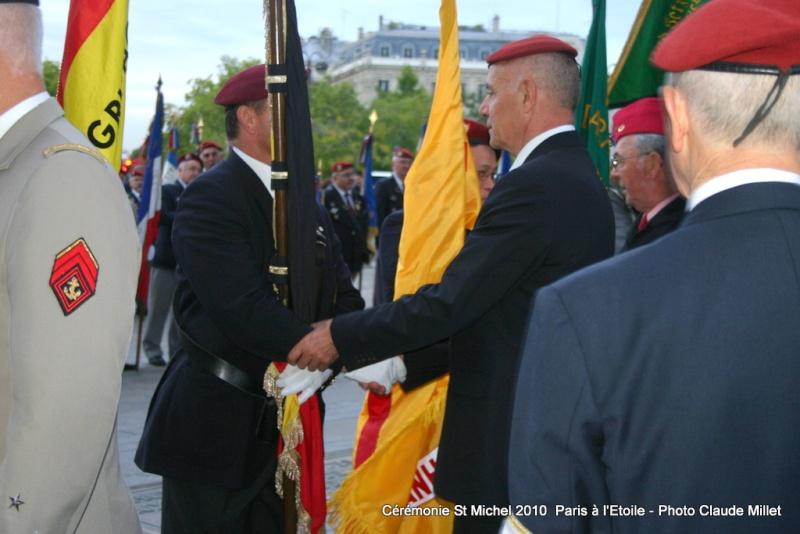 Cérémonie 2010 St MICHEL Archange Saint patron des parachutistes - UNP -Union Nationale Parachutistes - 2 octobre 2010 Img_8915