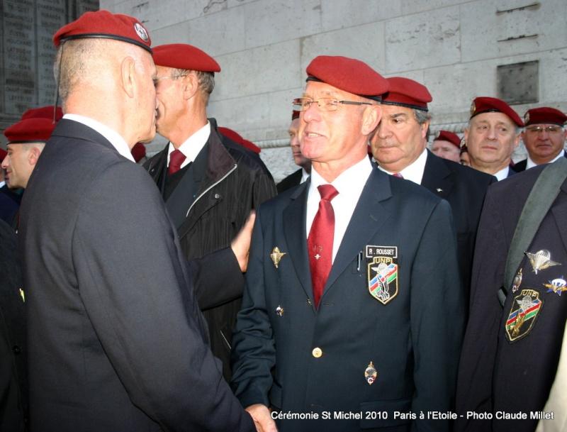 Cérémonie 2010 St MICHEL Archange Saint patron des parachutistes - UNP -Union Nationale Parachutistes - 2 octobre 2010 Img_8916