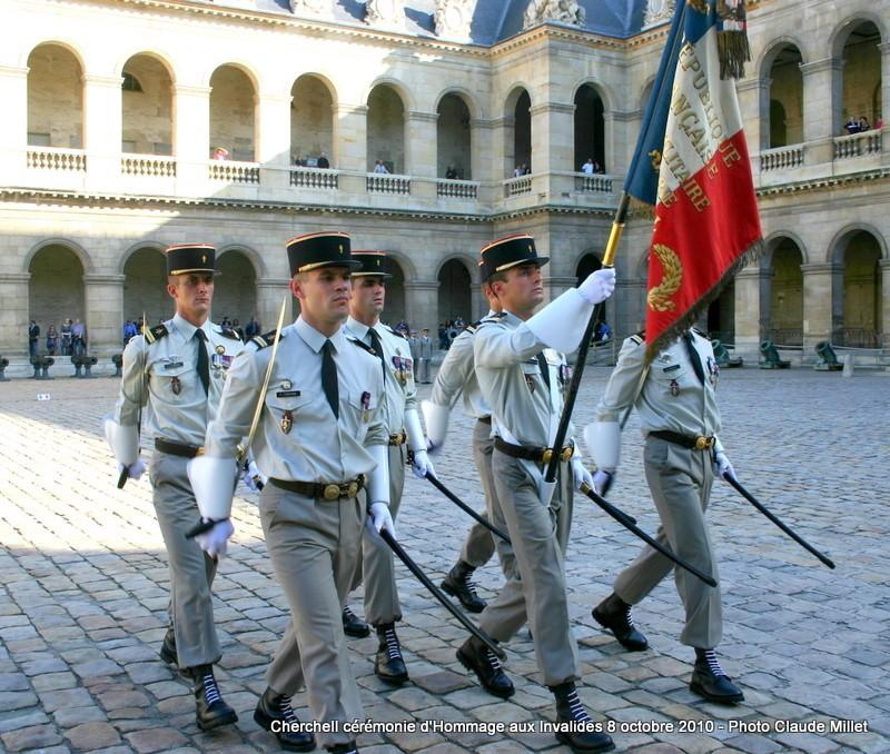 CHERCHELL, l'école oubliée: PRISE D'ARMES aux INVALIDES 8 octobre 2010 Img_9112