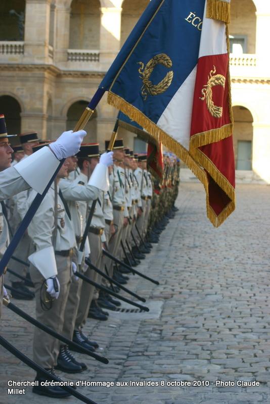 CHERCHELL, l'école oubliée: PRISE D'ARMES aux INVALIDES 8 octobre 2010 Img_9113