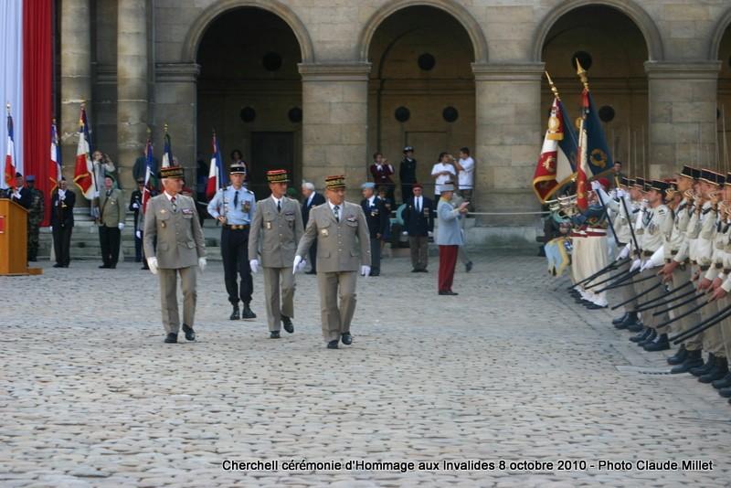 CHERCHELL, l'école oubliée: PRISE D'ARMES aux INVALIDES 8 octobre 2010 Img_9116