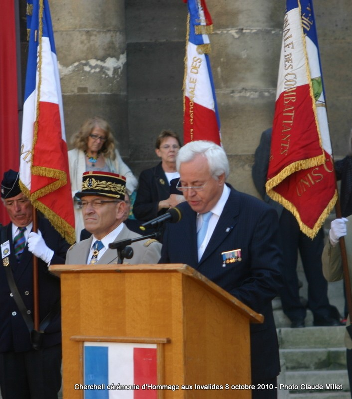 CHERCHELL, l'école oubliée: PRISE D'ARMES aux INVALIDES 8 octobre 2010 Img_9210