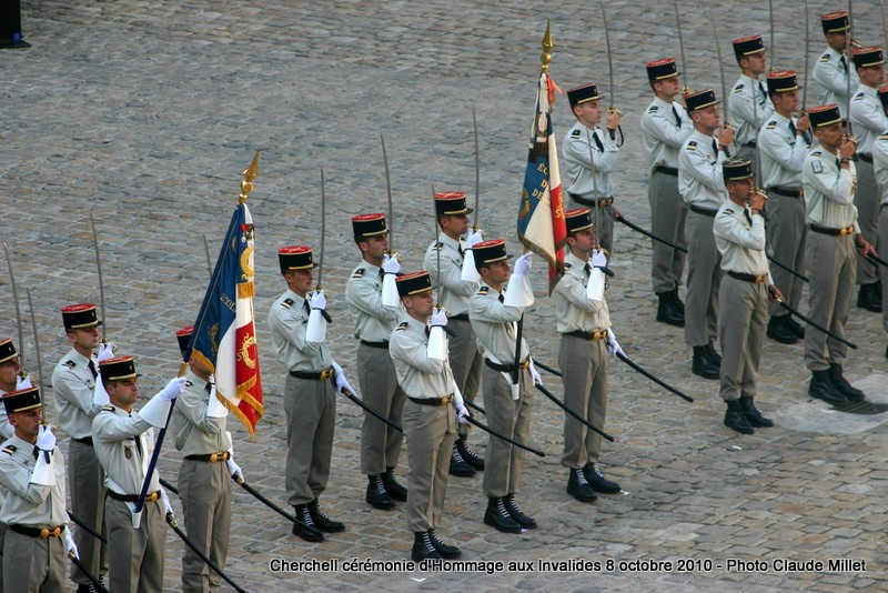 CHERCHELL, l'école oubliée: PRISE D'ARMES aux INVALIDES 8 octobre 2010 Img_9212