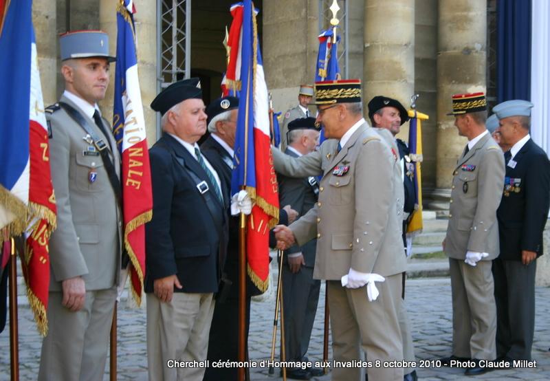 CHERCHELL, l'école oubliée: PRISE D'ARMES aux INVALIDES 8 octobre 2010 Img_9213