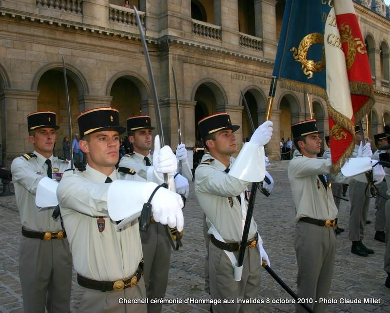 CHERCHELL, l'école oubliée: PRISE D'ARMES aux INVALIDES 8 octobre 2010 Img_9214