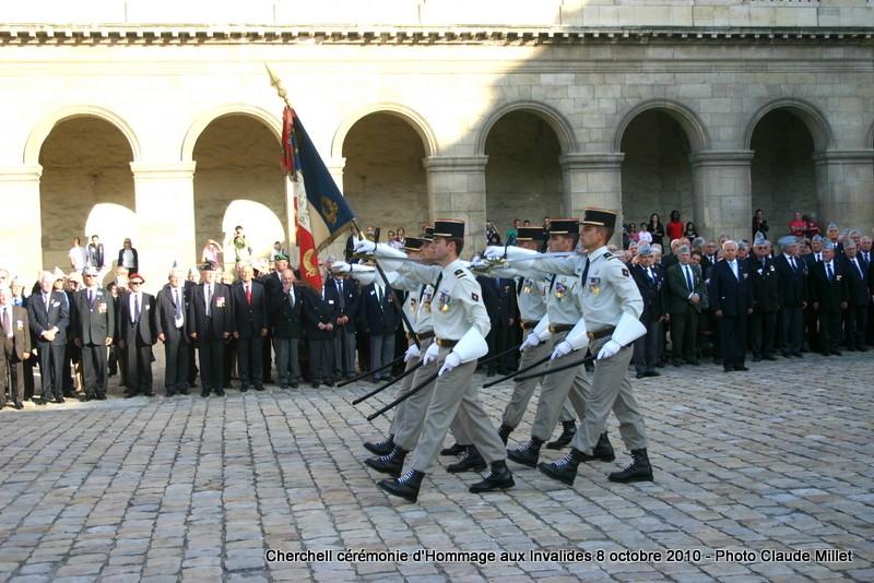 CHERCHELL, l'école oubliée: PRISE D'ARMES aux INVALIDES 8 octobre 2010 Img_9215