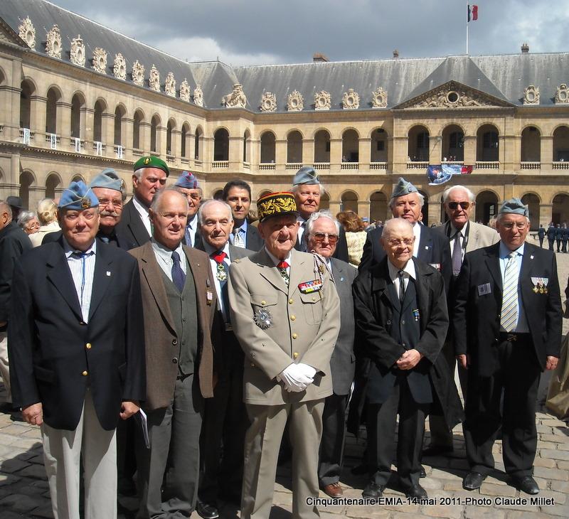 14 mai 2011 Cérémonie cinquantenaire de l'EMIA aux Invalides Invali13