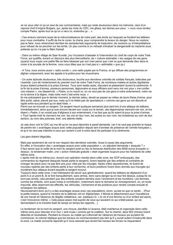 """un """"padre"""" catholique dénonce la """"déférence"""" envers l'Islam au sein de l'armée française - Page 3 Padre_14"""
