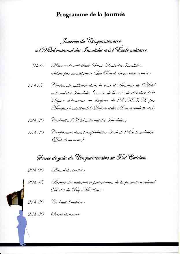 L'Ecole Militaire Interarmes reçoit la Légion d'Honneur Plaque12
