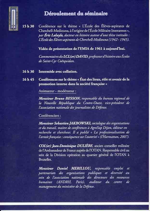 L'Ecole Militaire Interarmes reçoit la Légion d'Honneur Plaque13