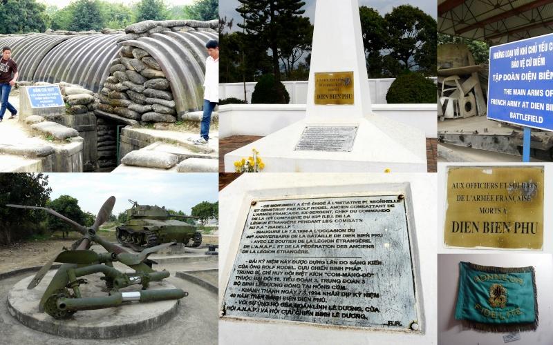je reviens ( depuis mars...) du Laos/Vietnam où un détour par Dien Bien Phu était obligatoire  Raid_l14