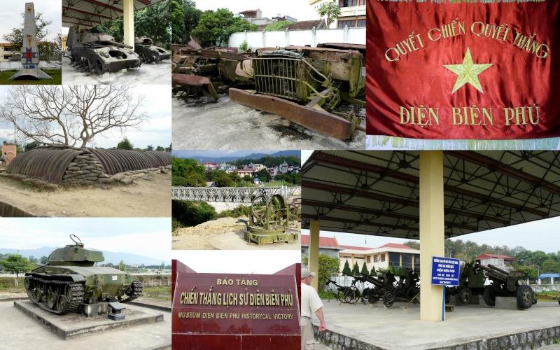 je reviens ( depuis mars...) du Laos/Vietnam où un détour par Dien Bien Phu était obligatoire  Raid_l15