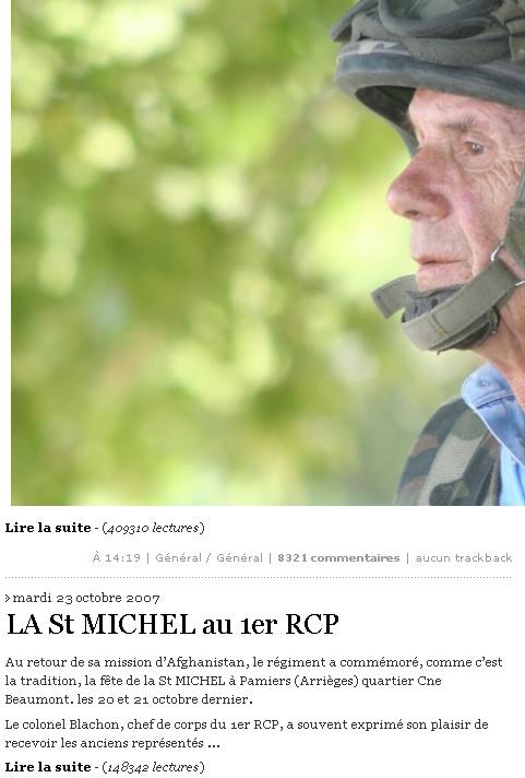 Cérémonie St MICHEL Archange Saint patron des parachutistes - UNP -Union Nationale Parachutistes - 2 octobre 2010 St_mic10