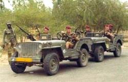 TCHAD - BEDO- 11octobre 1970 - Les 12 parachutistes tombés au Champ d'Honneur  Tchad-11