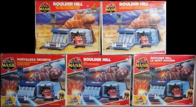 M.A.S.K. (Kenner/PlayFul) 1985-1988 Boulde10