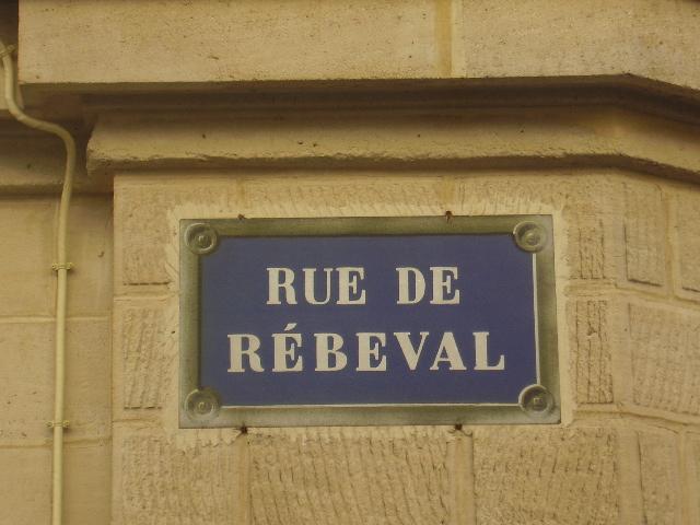 la rue Rébeval P2220110