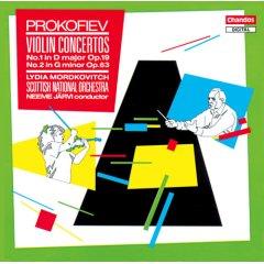 Oeuvres  pour violon de Prokofiev. 92402210