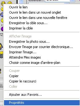 Installer un avatar ou une signature. Z10