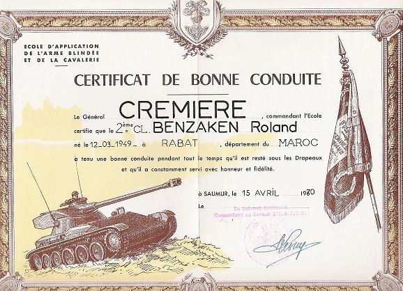 BRAVO ROLAND BENZAKEN LE RBATI Diplom11