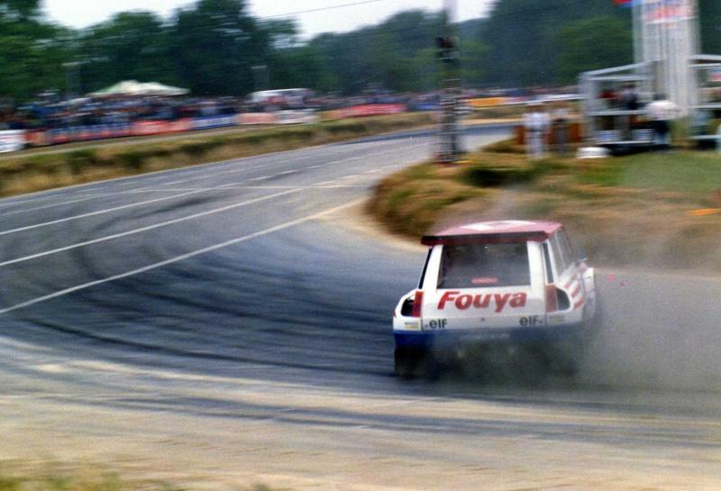 Renault 5 maxi Turbo Rallycross 1987 / 88  Gerard Rousel Img04110