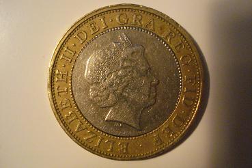 Gran Bretaña, 2 Libras, 1998 Carlos10