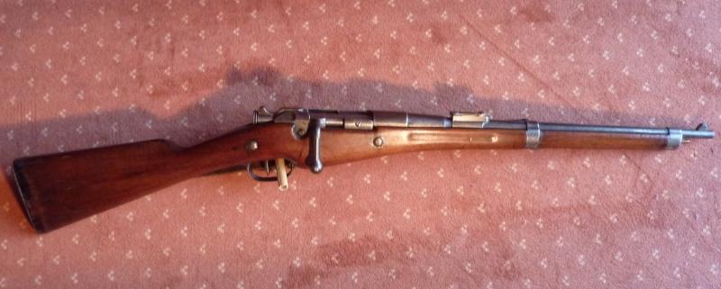 le mousqueton de cavalerie Berthier qui n'existe pas Cd257410