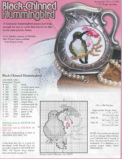 مجلة التطريز العالمية cross stitch و 25 موديل Cross210