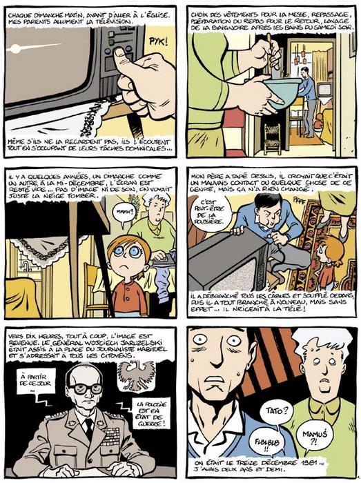 MARZI (BD: la vie sous le communisme vue par une enfant) Planch10