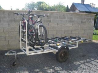 Projet de remorque porte-vélos. 00175511