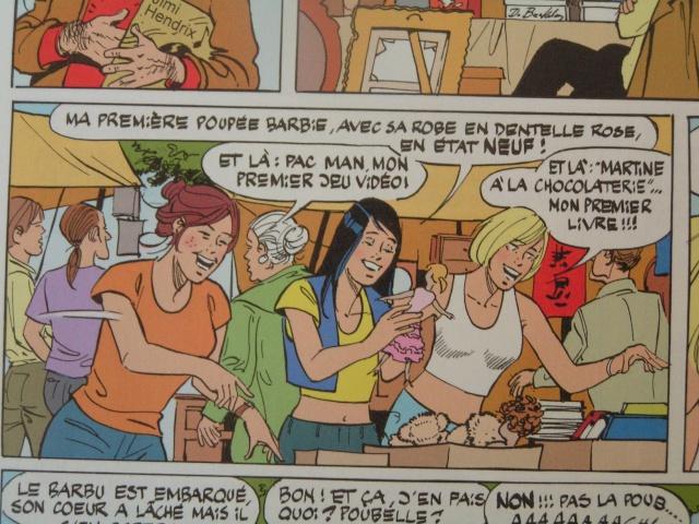 Barbie s'invite chez Julie Claire et Cécile ;o) Pict3916