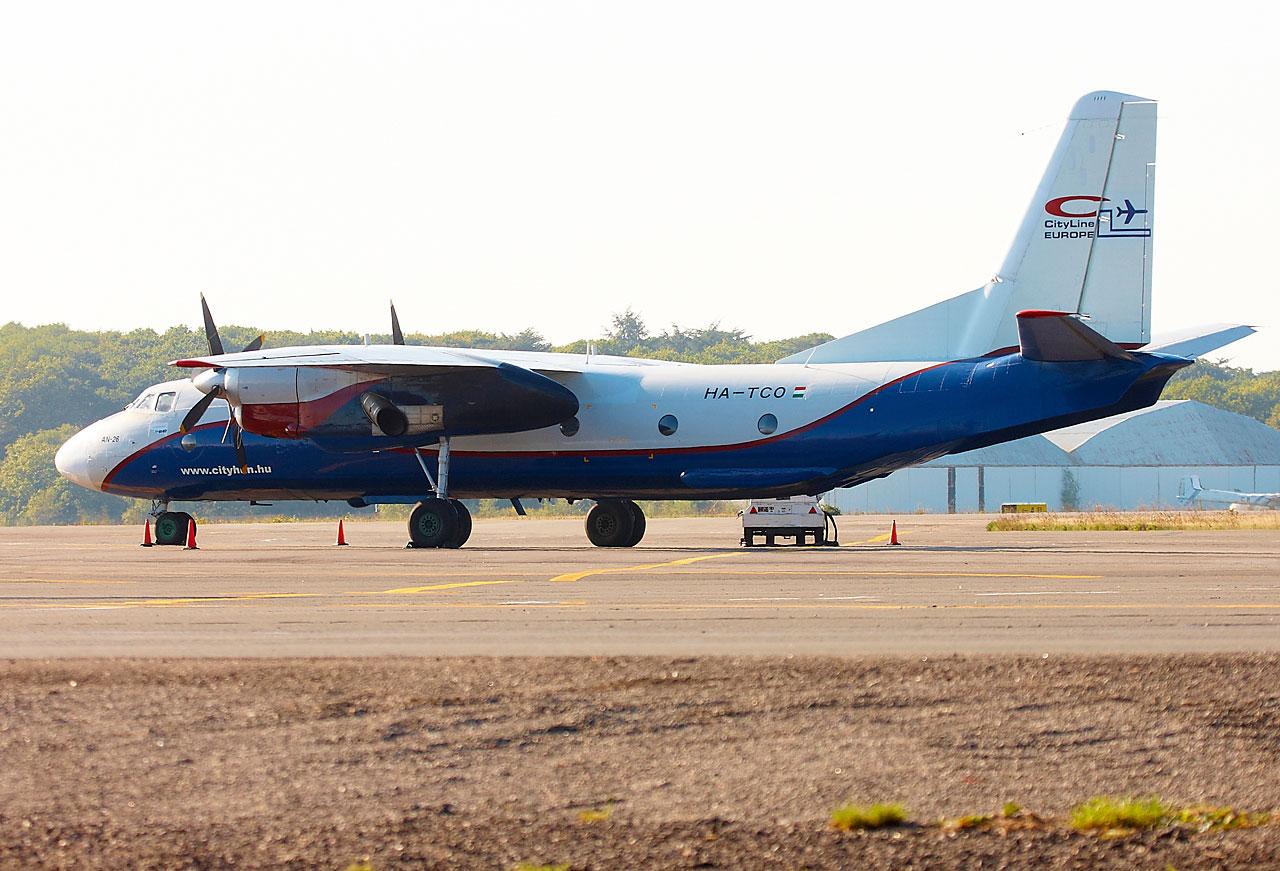 [HA-TCO] Antonov AN-26B CityLine Hungary Img_7213
