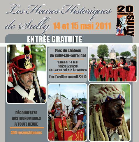 Rassemblement multi-époques à Sully sur Loire - 14 & 15 mai 2011 Captur10